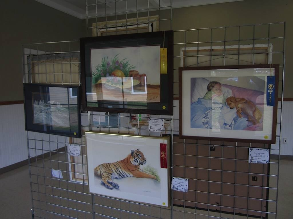 Entries from the 2014 Juried Art Show.