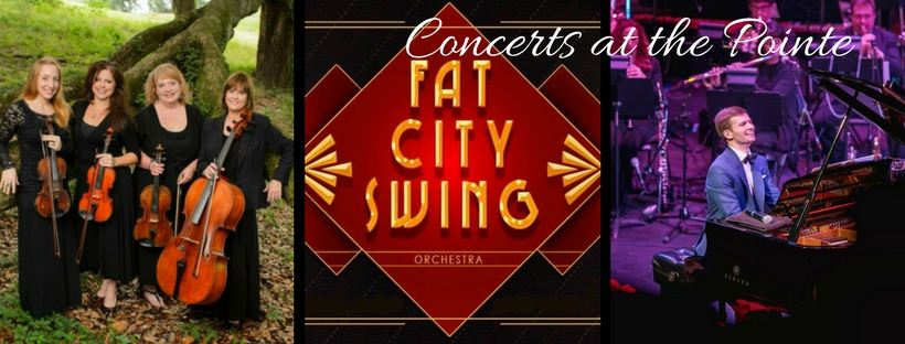 2018 Season tickets for Concerts at the Pointe @ The Pointe at Americana | Zachary | Louisiana | United States